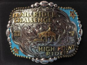 Trail Rider Challenge Trophy Buckle