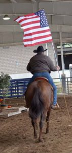 2017 Iowa Horse Fair Trail Rider Challenge Flag